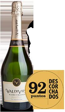 Valdivieso Blanc de Blancs  Sparkling Wine 2014